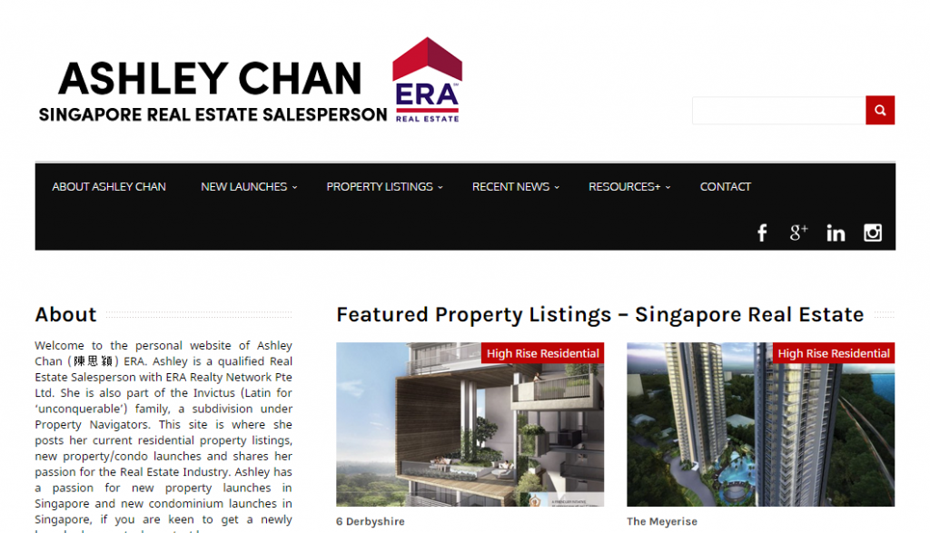 real estate agent singapore